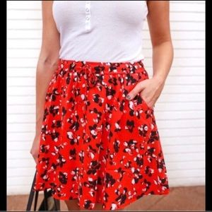 NWT Banana Republic Floral Skirt